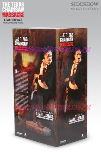 TEXAS CHAINSAW MASSACRE SIDESHOW LEATHERFACE PRETTY WOMAN MASK PREMIUM FORMAT FIGURE Horror Collector