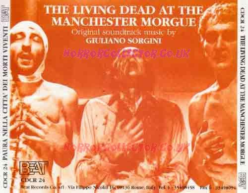 LIVING DEAD AT MANCHESTER MORGUE & CITY OF THE LIVING DEAD SOUNDTRACK CD on HorrorCollector