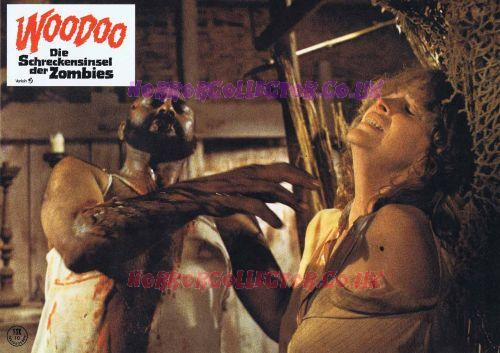ZOMBIE FLESH EATERS GERMAN LOBBY CARDS on HorrorCollector