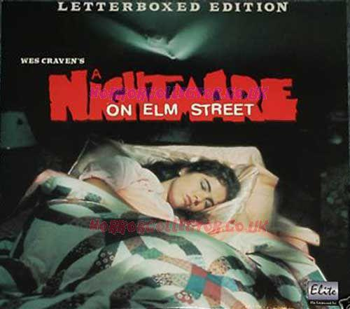 A NIGHTMARE ON ELM STREET ELITE LASERDISC on HorrorCollector