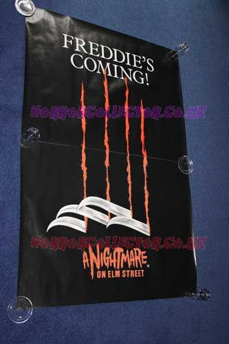 A NIGHTMARE ON ELM STREET BRITISH TEASER QUAD POSTERS on HorrorCollector