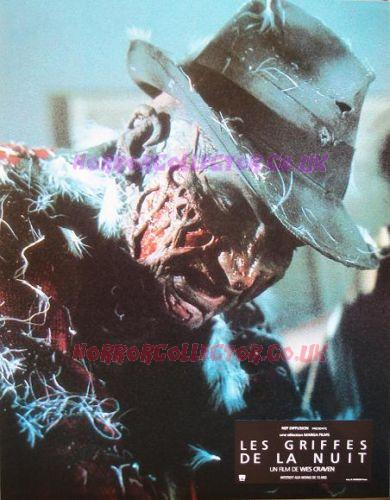 A NIGHTMARE ON ELM STREET FRENCH LOBBY CARDS on HorrorCollector
