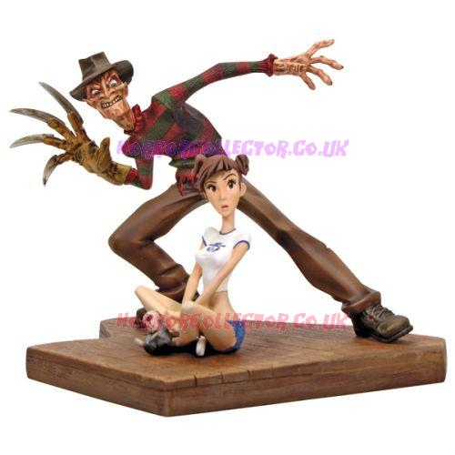A NIGHTMARE ON ELM STREET GENTLE GIANT 2009 FREDDY ANIMAQUETTE on HorrorCollector