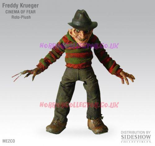 A NIGHTMARE ON ELM STREET CINEMA OF FEAR ROTO PLUSH FREDDY KRUEGER  on HorrorCollector