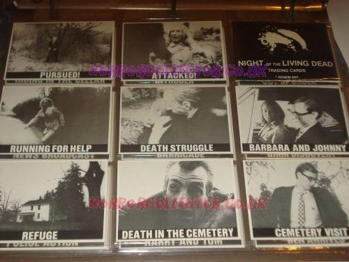 NIGHT OF THE LIVING DEAD ROSEM TRADING CARDS 1987 Horror Collector