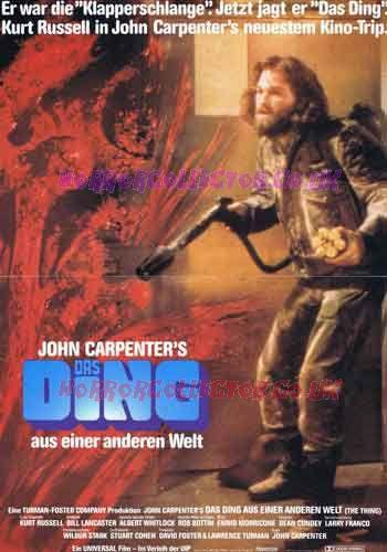 THE THING GERMAN A3 POSTER Horror Collector