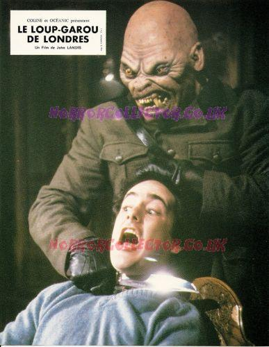 AN AMERICAN WEREWOLF IN LONDON FRENCH LOBBY CARDS on HorrorCollector