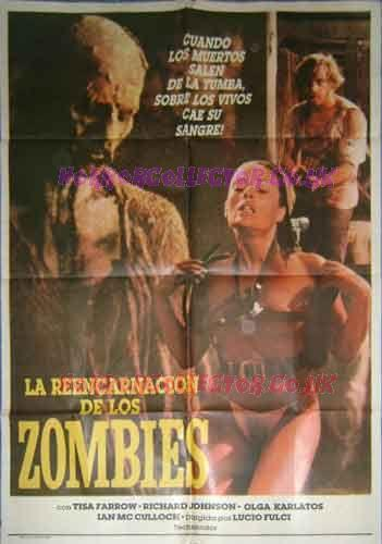 ZOMBIE FLESH EATERS ARGENTINE ONE SHEET MOVIE POSTER on HorrorCollector